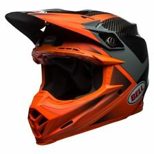 BELL MOTO-9 FLEX HOUND HELMET - SIZE LARGE - ORANGE/ CHARCOAL - 7091660