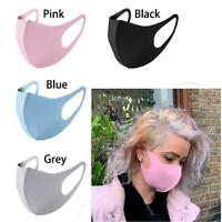 Reusable Unisex Face Mask Mouth Protection Protective Cover Washable Adult Masks