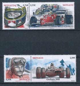 [338606] Monaco 2015 auto racing good set very fine MNH stamps