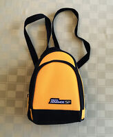 "Genuine Nintendo Gameboy Advance SP YELLOW 9"" Backpack Carrying Case EXCELLENT!"