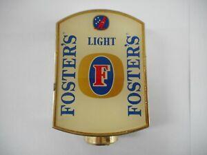 FOSTERS LIGHT BEER TAP TOP  ..