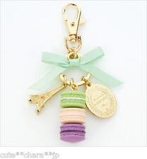 Japan 0090 Accessories LADUREE Key Chain Ring  Pistachio Original boxed Kawaii