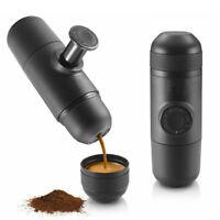 Mini Espresso Manuale Portatile Macchina da Caffè Caffettiera Campeggio Tazza