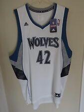 NWT Old Stock Minnesota Timberwolves Kevin Love # 42 Premium Jersey Men 2XL Wt