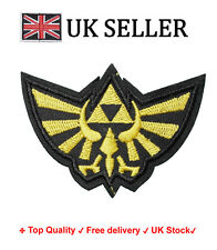 THE LEGEND OF ZELDA Iron /Sew On Embroidered Patch Badge action Embroidery Motif