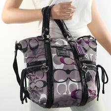 NWT Coach Daisy Poppy Optic Shoulder Bag Hand Bag Pocket Tote F22962 New RARE
