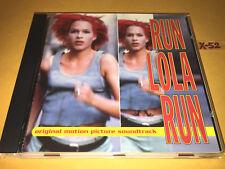 Run Lola Run soundtrack Cd Franka Potente Tom Tykwer Clemek Pills Tommi Eckhart