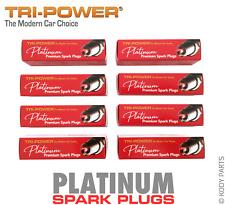 PLATINUM SPARK PLUGS - for Jaguar XF 4.2L V8 X250 (AJ34) TRI-POWER