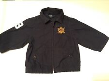 Pre-Loved 100% Auth Ralph Lauren, Baby Boy Navy Jacket With Logo. 12 Months