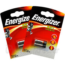 4 x Energizer Alkaline A27 batteries 12V MN27 E27A L828 E27 Alarms Calculators