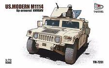 T-Modèle 1/72 TM7201 U.S. M1114 Up-Armored HMMWV