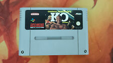 GEORGE FOREMAN'S KO BOXING SUPER NINTENDO SNES PAL ESP COMBINED SHIPPING