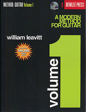 A Modern Method For Guitar Volume 1 Learn to Play Chords Music Book & CD