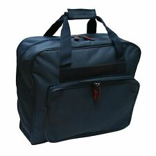 NAVY Sewing Machine CARRY BAG (Padded) - Zip Up Front Storage (Made by Sew Easy)