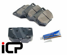 2 Pot Rear Brake Pads & Grease Fits Subaru Impreza Turbo WRX GB270 NEWAGE