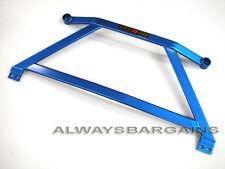 Megan Racing H Brace Arm Fits Honda Civic 06 07 08 09 10 11 Coupe Sedan Blue