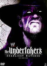 Undertaker's Deadliest Matches DVD Fast Free Shipping!!!