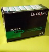 Lexmark 12A7612 Black High Yield Toner Cartridge OEM T630 T632 T634 X630 #2