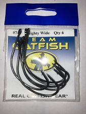 BNIP Team Catfish TC90Z-7/0 Mighty wide Hook Size 7/0 Extra Wide Gap Standard 6p