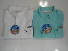 New ListingColumbia Mens Pfg Terminal Tackle Short Sleeve Shirts Nwt