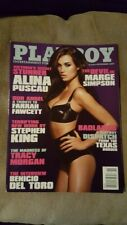 Playboy November 2009 Marge Simpson Alina Puscau Farrah Fawcett