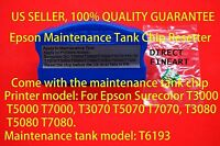 Epson Ink Maintenance Tank chip resetter reset T3000 T5000 T7000 T3270 T5270 x