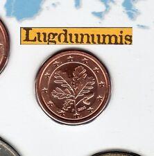 Allemagne 2013 1 centime F Stuttgart FDC provenant coffret BU 40000 exemplaires