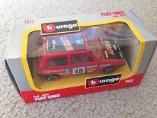 1:43 Bburago Fiat Uno Rally 4119
