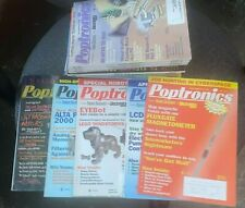 25 Issues POPTRONICS MAGAZINE 2001-2002 full years + Jan 2003 POPULAR ELECTRONIC
