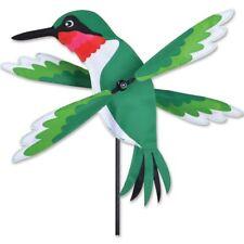 "Hummingbird Wind Spinner Whirligig Hummer 16"" diameter Windspinner Premier"