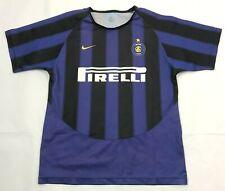 Inter Milan 2003/2004 NIKE Home Football Shirt Boys Size L 14-16Y Soccer Jersey