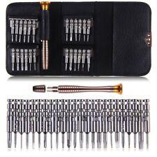 25 Pezzi Meccanica precisione Set Di Cacciaviti Orologiaio Mini Punta micro Kit