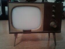 Vintage Plastic TV Salt & Pepper 1950s