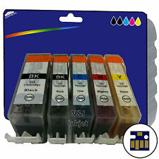 Choose Any 5 Compatible Printer Ink Cartridges for Canon Pixma MP620 [520/521]