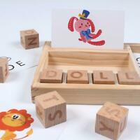 3-in-1 Spelling Learning Game Wooden Spelling Words Enlightenment Baby Gift