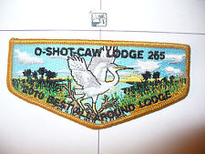 OA O Shot Caw 265 S-136?,2010 Best All Around Lodge Flap,TAN Bd,South FL Council