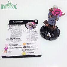 Heroclix Avengers: Black Panther & Illuminati set Gardener #049 Rare w/card!
