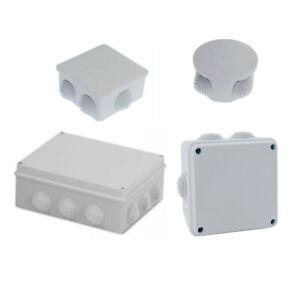 Cassette stagne scatola derivazione impianto elettrico esterno muro tubo rigido