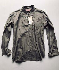 marlboro classics Mens shirt Size XL Brand New Dark Green Stripped Mcs Regular F