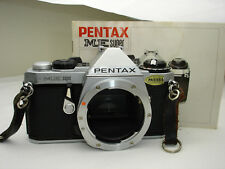 Pentax ME Super 35mm SLR Film Camera Body , Works good! SN2905773