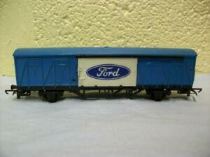 Closed Ferry Van 'Ford' Tri-ang Hornby No R.787 '00', Light Use, 1973 Issue Only