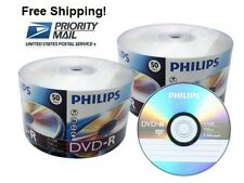 SPECIAL!!! 100 Philips 16X 4.7GB DVD-R Blank Disc FREE EXPEDITED SHIPPING