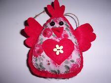 Chicken Hanger Handmade Shabby Chic    r