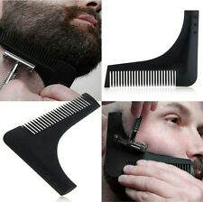 Men's Beard Shaping Comb Trimming Jawline style guide tool Stencil Shaving Man