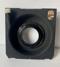 Original Linhof Technika Copal #0 Recessed Lens Board fits Shen Hao Wista Ex