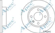FRONT BRAKE DISCS (PAIR) FOR SKODA FAVORIT FORMAN GENUINE APEC DSK247