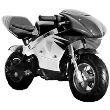 High Performance Honda clone 4 Stroke 40cc Black Pocket Mini Bike In Stock!