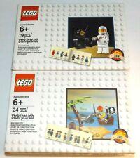 LEGO 5002812 Classic Spaceman Minifigure + 5003082 Pirate 2014 2015 Exclusive