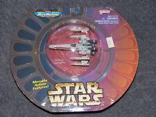 Vintage Star Wars Titanium Micro Machines X-Wing 1st Issue MIP Die Cast 1996 NEW