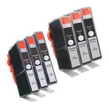 6 Combo 564XL BLACK+PHOTO 564 INK LEVEL+ HIGH YIELD Ink Cartridge for HP Printer
